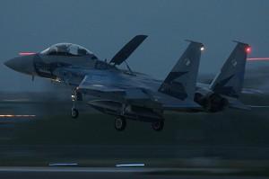 F15日米共同訓練