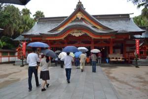 青島神社に参拝