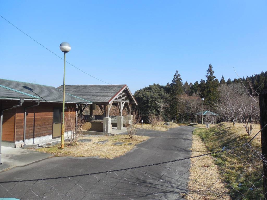 矢立キャンプ場炊飯場