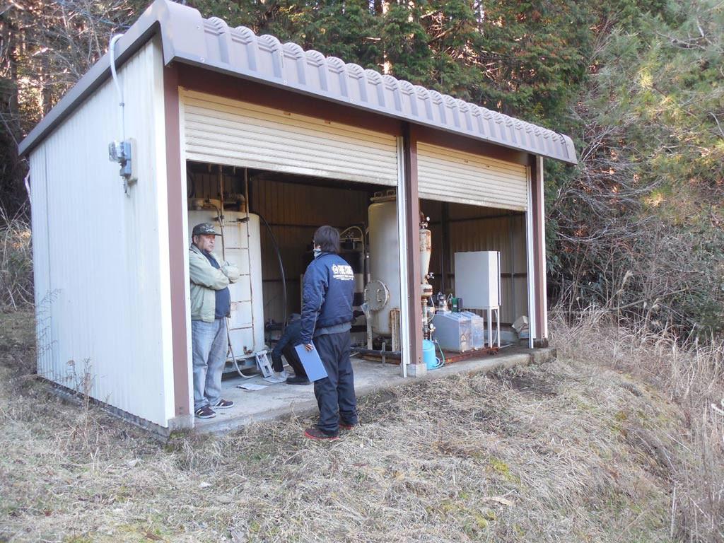 キャンプ場内の施設を調査しました。
