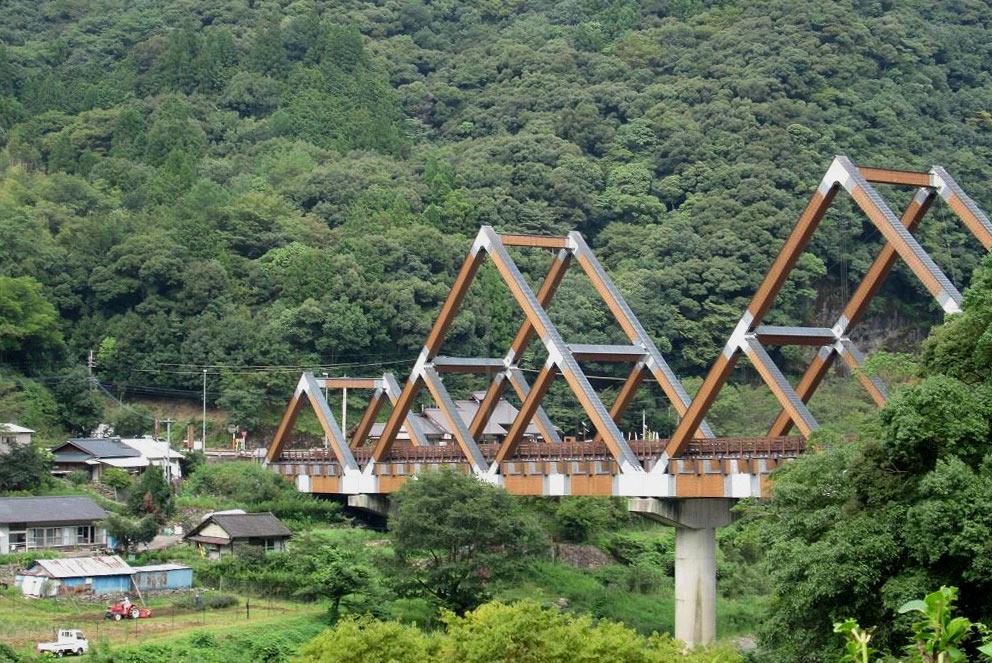 西米良村カリコボーズ大橋