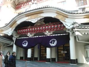 歌舞伎座が綺麗になっていました。