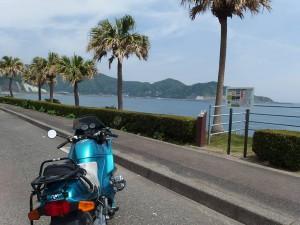 日南海岸風祭付近