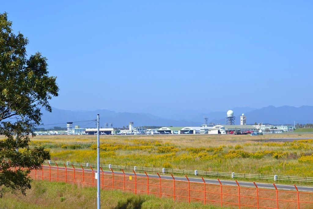 新田原基地遠景