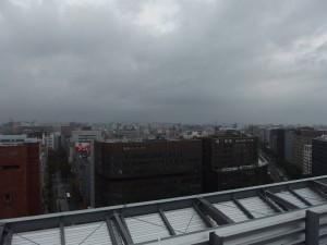 博多駅ビル屋上より