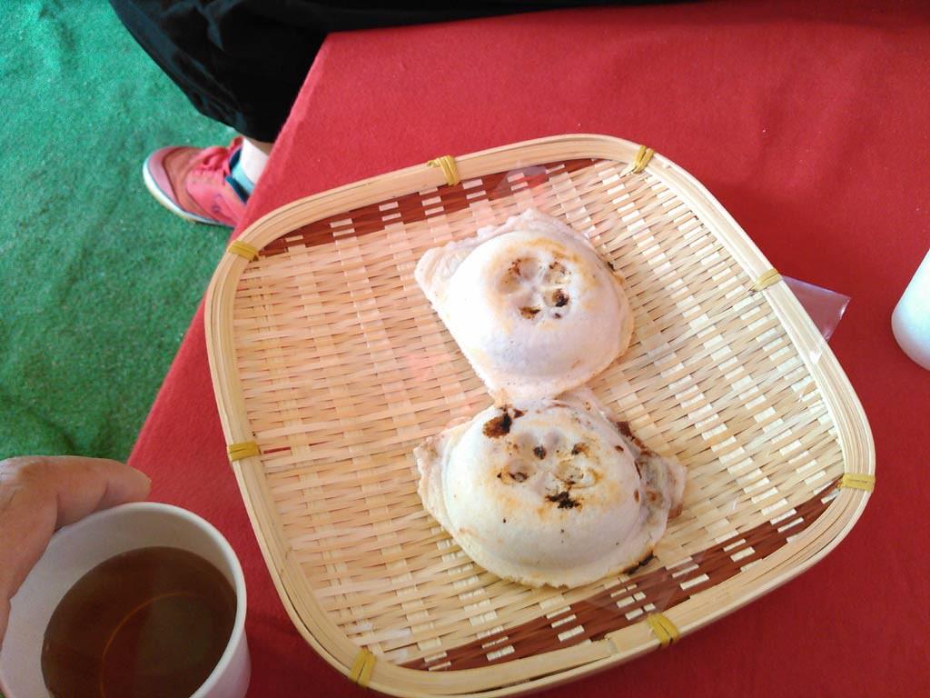 梅ヶ枝餅の露店