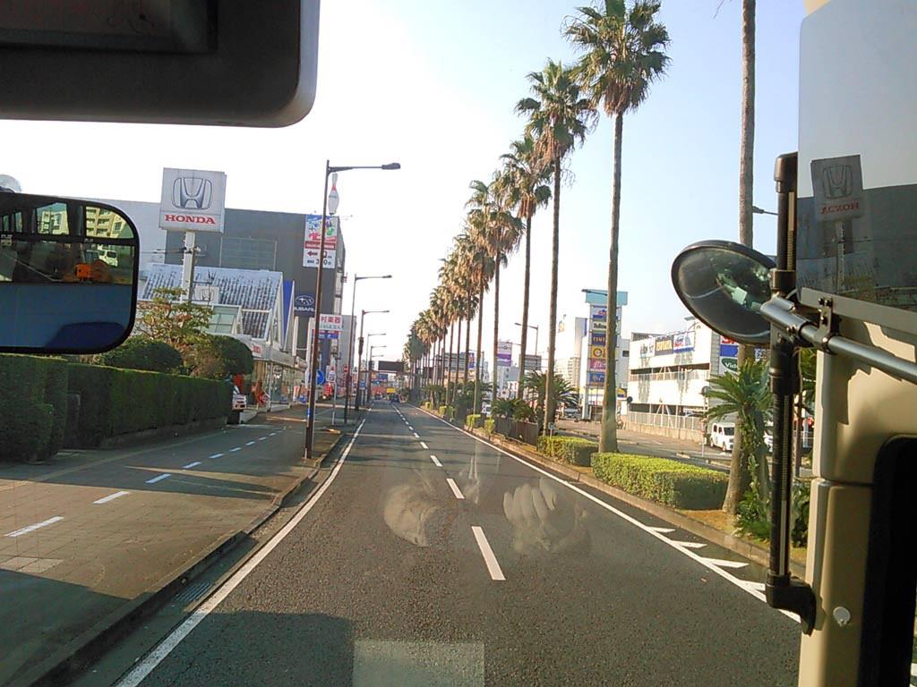 バイパスに入ると、九州自動車道