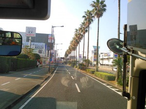 バイパスに入ると、すぐに九州自動車道