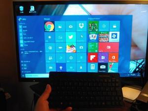Windows10の画面はこんな感じ