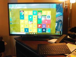自分自身の好きなデスクトップデザインにして、万華鏡みたい