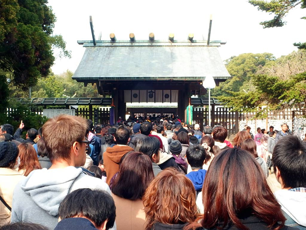 15分程で最後の門の前