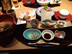 加賀料理の数々、久し振りで美味い。